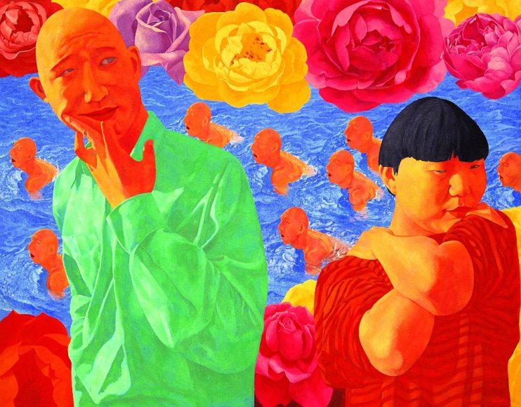 <h1>Chinese Painting. Zhang Xiaogang, Fang Lijun, Feng Mengbo</h1>
