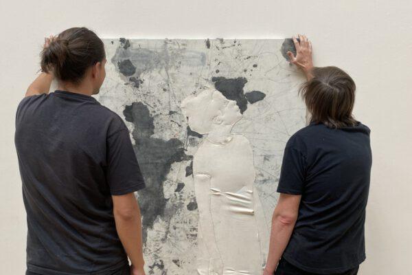 unconductive trash (Michal Pěchouček a Rudi Koval), Burning Daylight, 2020. Foto: Galerie Rudolfinum