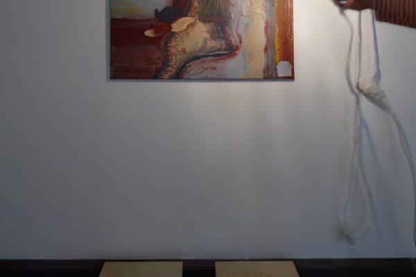 Autorský Artpark, Veronika Drahotová, Vrhám stín. Foto: Martin Polák