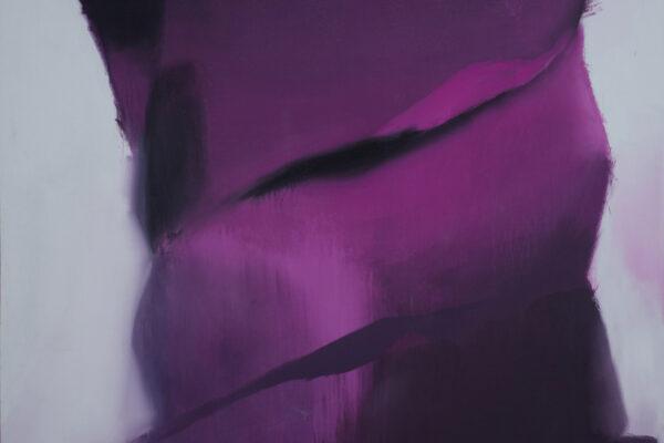 Vladimír Véla, Stahování, 2012, akryl na plátně, 300 x 240cm. Foto: Jan Mastník // Vladimír Véla, Stahování, 2012, acrylic on canvas, 300 x 240cm. Photo: Jan Mastník